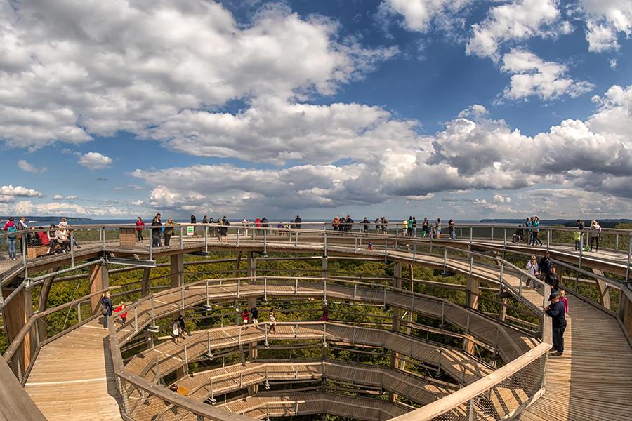 Aussicht vom Turm 1©eak | Inselzeitung Rügen