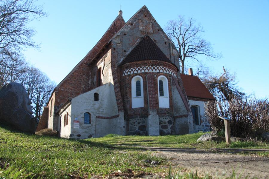 Besondere Doerfer Altenkirchen Pfarrkirche inselzeitung | Inselzeitung Rügen