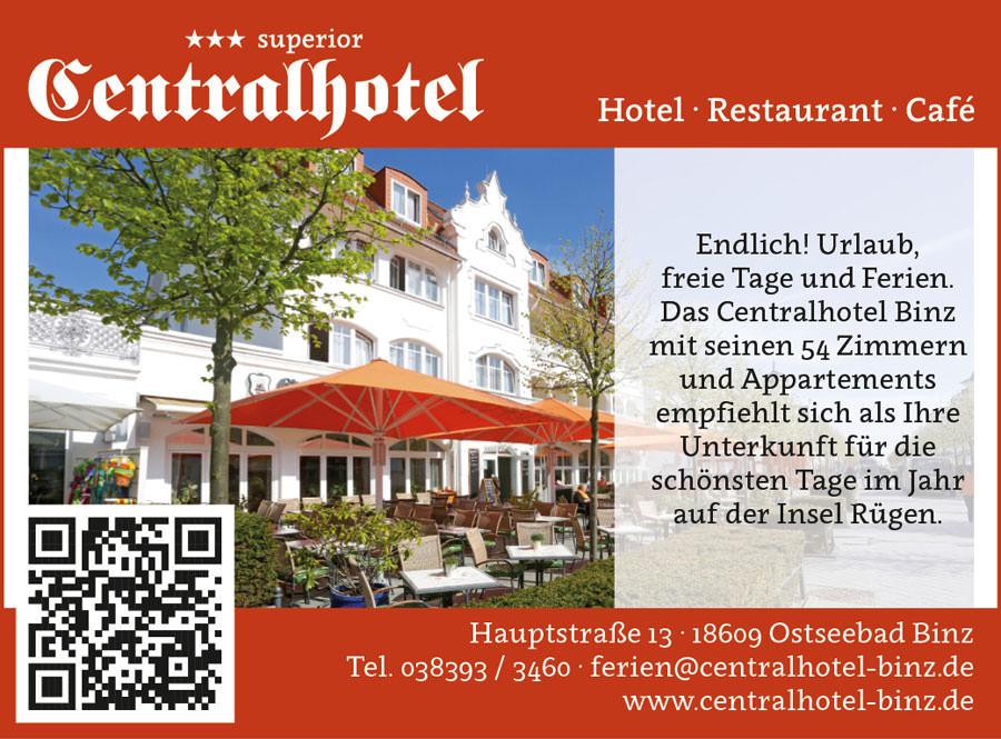 centralhotel binz insel ruegen | Inselzeitung Rügen