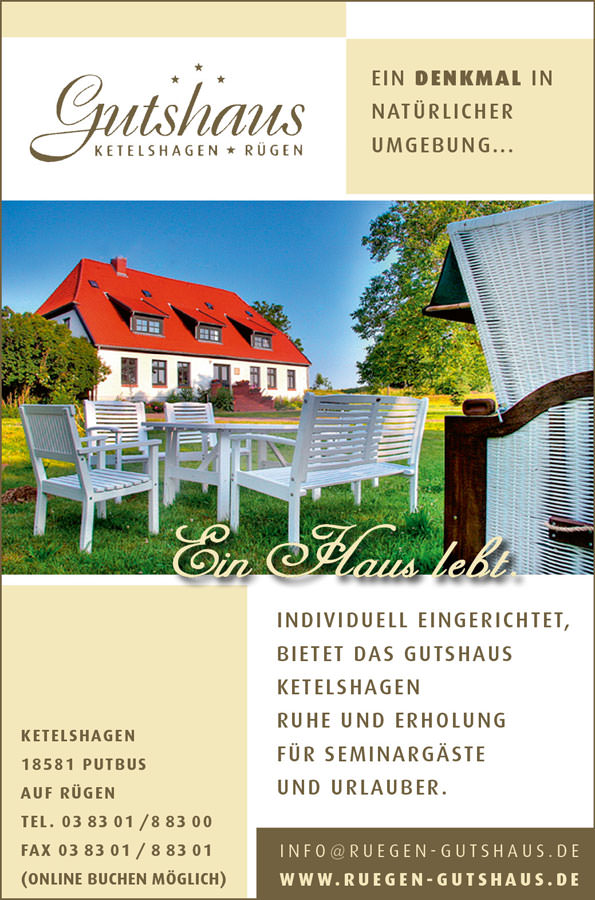 gutshaus ketelshagen insel ruegen inslezeitung | Inselzeitung Rügen