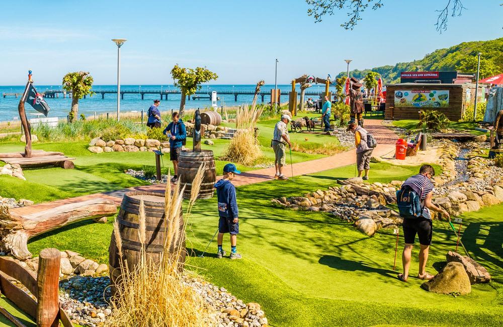 inselzeitung adventure golf ruegen im ostseebad goehren | Inselzeitung Rügen