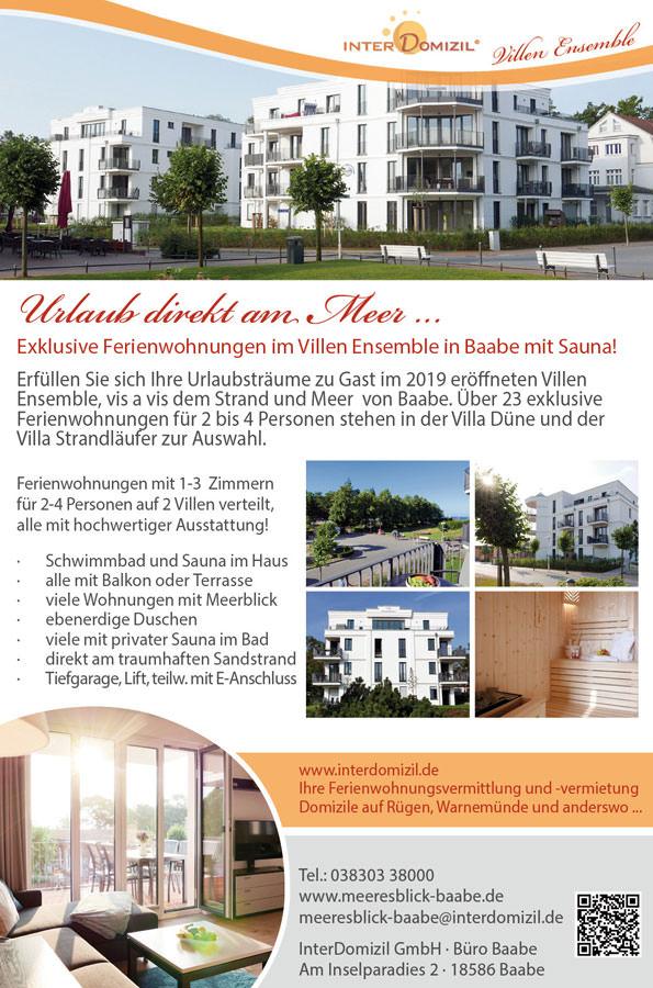 interdomizil ferienwohnungen baabe ruegen | Inselzeitung Rügen