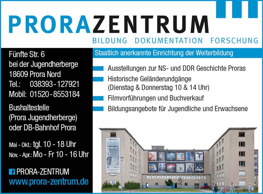 prora zentrum museum ruegen   Inselzeitung Rügen