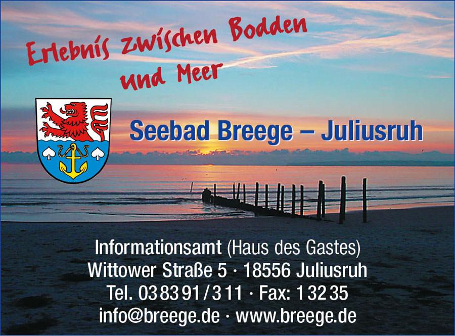 seebad breege juliusruh halbinsel wittow insel ruegen | Inselzeitung Rügen