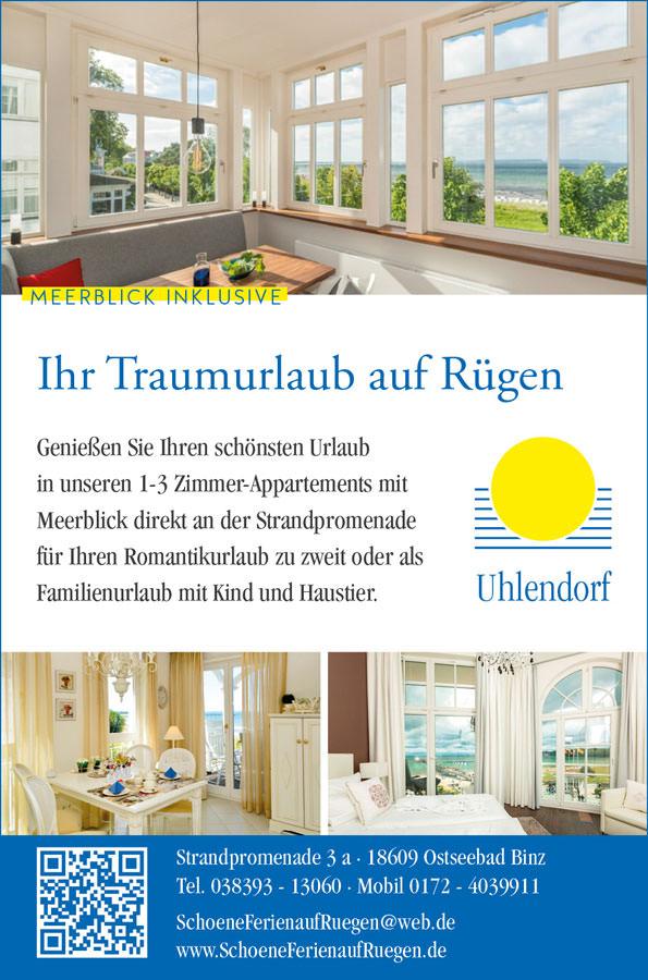 uhlendorf appartements ostseebad binz | Inselzeitung Rügen