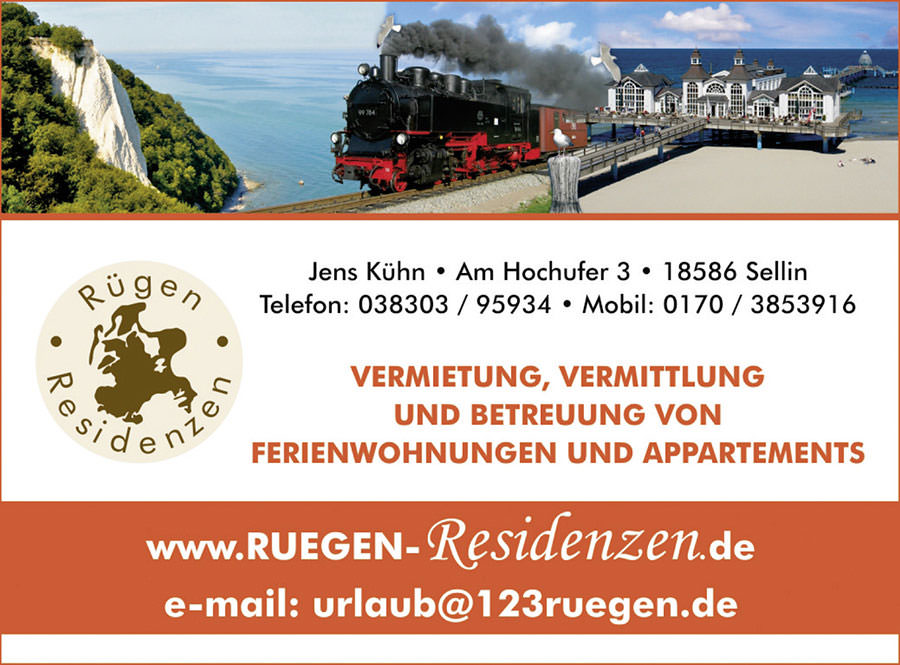 urlaub buchen ruegen residenzen inselzeitung | Inselzeitung Rügen