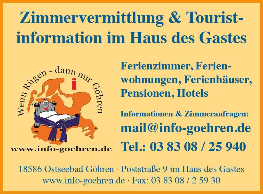 zimmervermittlung ostseebad goehren | Inselzeitung Rügen
