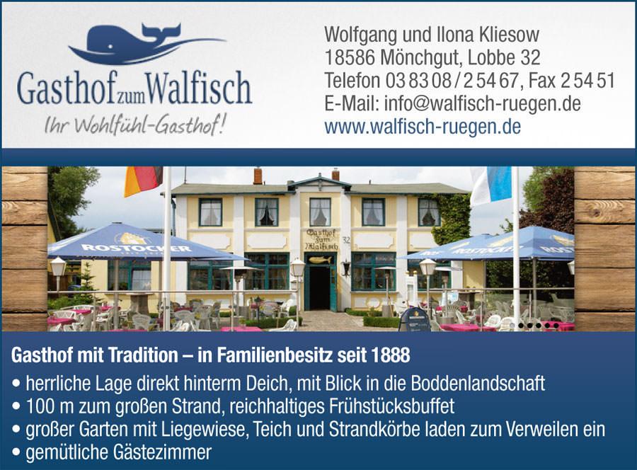 zum walfisch | Inselzeitung Rügen